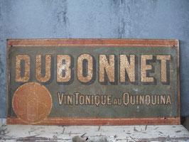 Antikes französisches Werbeschild DUBONNET 1920