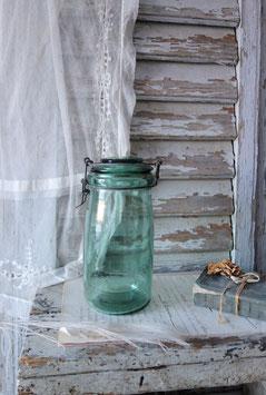 Uraltes Vorratsglas aus Frankreich