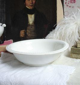 Wunderbare antike Keramik Schüssel aus Frankreich