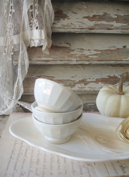 Shabby: 3-er Set Mini Keramik Bols Frankeich