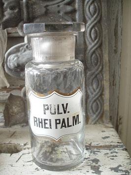 Antike Apothekerflasche aus Frankreich