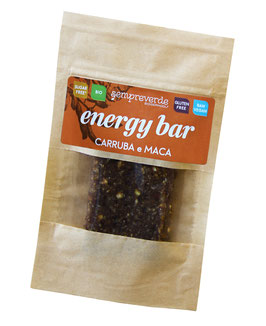 Energy bar - Carob and Maca