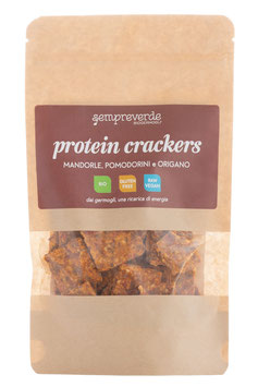 Protein crackers - tomatoes and oregano