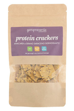 Protein crackers - cashew and buckwheat