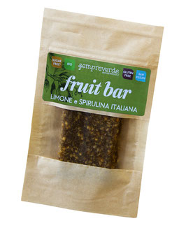 Fruit bar - Lemon and Spirulina