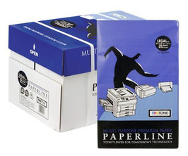 "Paperline Premium Legal Copy Paper - 20lb, 8.5"" x 14"", 92 brightness - White"