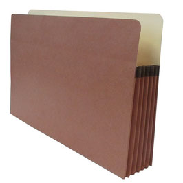 """Accordion Expanding Pocket File with Straight - Cut Tab (Legal Size - 5-1/4"""")"""