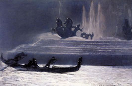 The Fountains at Night, World's Columbian Exposition