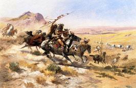 Attack on a Wagon Train