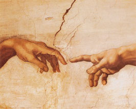 The Creation of Adam (hands)