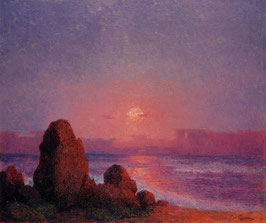 Sunset of the Breton Coast