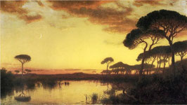 Sunset Glow, Roman Campagna