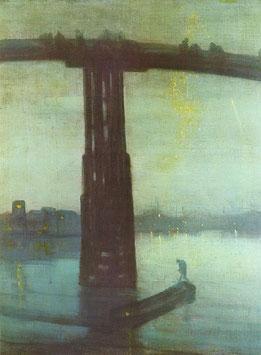 Nocturne Blue and Gold Old Battersea Bridge