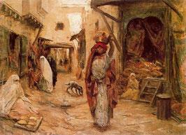 Scène de rue en Algérie