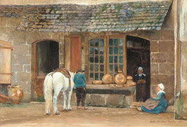 A Baker's Shop in Brittany