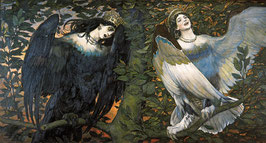 Sirin and Alconost. Song of Joy and Sorrow