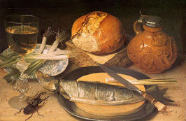 Fish Still Life with Stag-Beetle