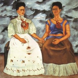 The 2 Fridas, Frida Kahlo