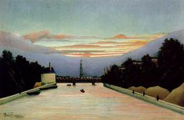 La tour Eiffel peinte par Henri Rousseau