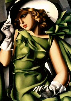 Jeune Fille en Vert (Young Lady in Green)