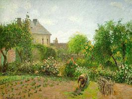 The Artist's Garden at Eragny