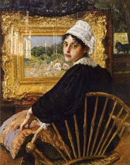 A Study aka The Artist's Wife