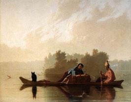 Traders Descending the Missouri