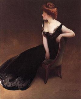 Portrait of Mrs. V (Mrs. Herman Duryea)
