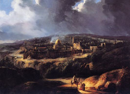 View of Jerusalem from the Valley of Jehoshaphat