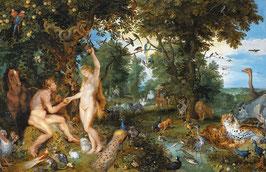 Adam and Eva in the Paradise
