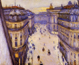 Rue Halevy, Seen from the Sixth Floor