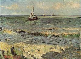 Fishing Boats at Sea, Vincent van Gogh