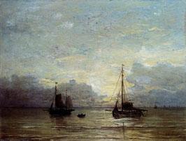 Fishing Boats Near The Coast