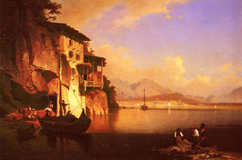 Motion of the Garda Lake