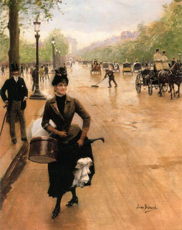 The Milliner on the Champs Elysees