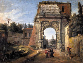 Rome View of the Arch of Titus