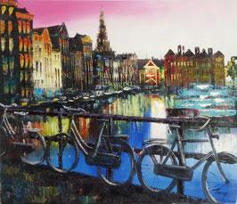 City Scene Amsterdam, Damrak