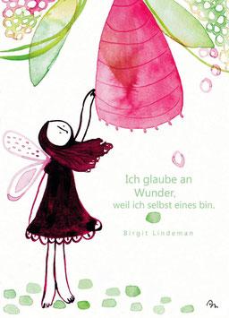 "Postkarte ""Wunder"""