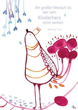 """Postkarte """"Kinderherz"""""""