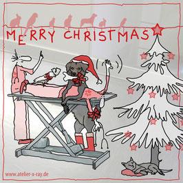 Weihnachtskarte  VET