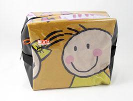 Große Kulturtasche Smiley mila design