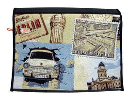 Wechselklappe Berlin für Messengerbag oder Lehrertasche