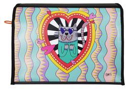 *Künstlerklappe* Wechselklappe Love-Cat von EMTI