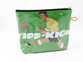 kleine retro Kulturtasche Fußball Tipp Kick