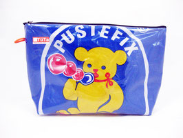 retro Kulturtasche Pustefix Bär