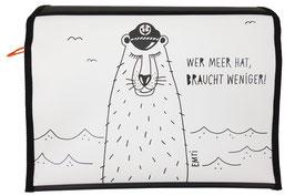 *Künstlerklappe* Wechselklappe Seebär von EMTI