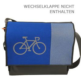 Fahrradtaschenkorpus für große Wechselklappen