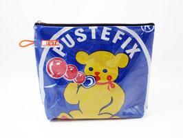 kleine Kulturtasche Retro Pustefix Bär
