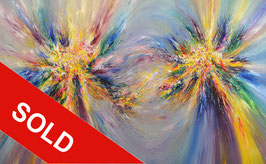 Contacted XXXL 1, extra large painting ! / SOLD
