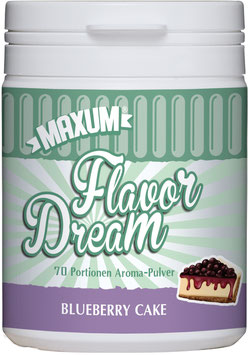 Flavor Dream - Blueberry Cake